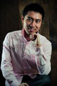 Rixiang Huang pink shirt less green