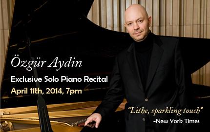 Exclusive Solo Piano Recital